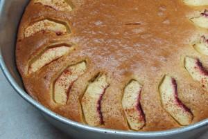 Κέικ με νεκταρίνια