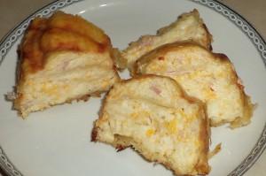 Μπουρέκι μοτσαρέλα – παρμεζάνα