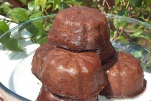 Muffins σιροπιαστά