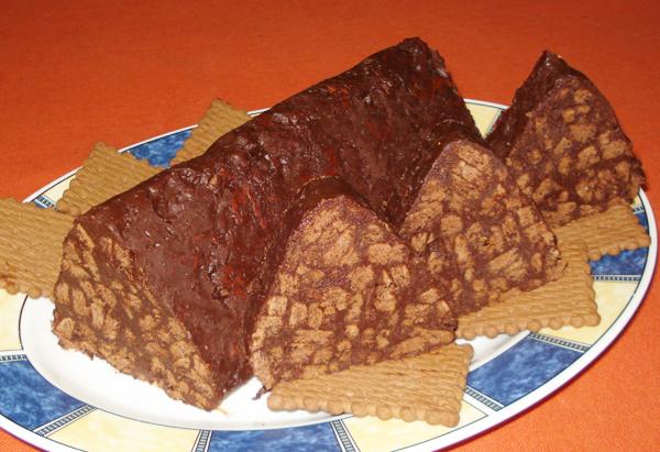 Μωσαϊκό σοκολάτας με εσπρέσο