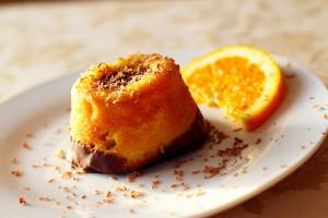 Πορτοκαλόπιτες με σοκολάτα