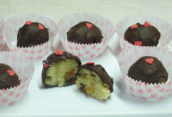 Χαλβαδάκια με σοκολάτα