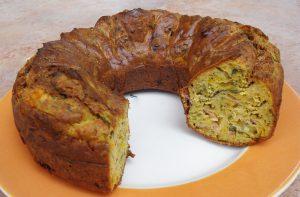 Κέικ αλμυρό με σπανάκι