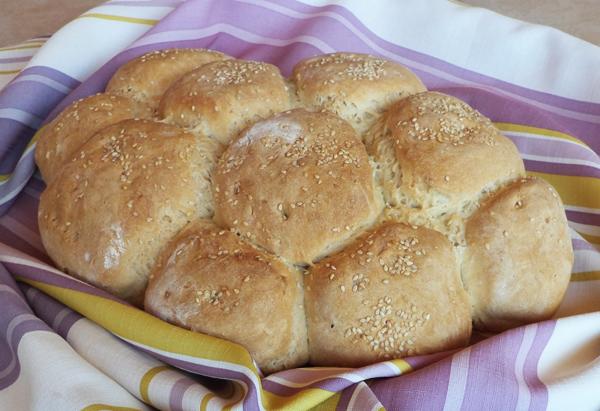 Ψωμί σπιτικό μαργαρίτα