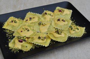 Ραβιόλια με σάλτσα γλυκοκολοκύθας