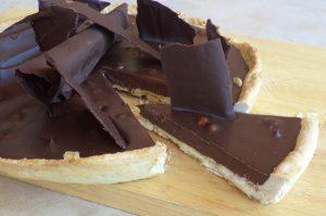 Τάρτα σοκολάτας με φουντούκια