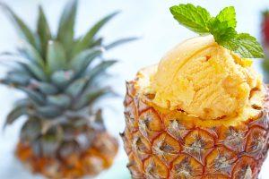 Παγωτό ανανά
