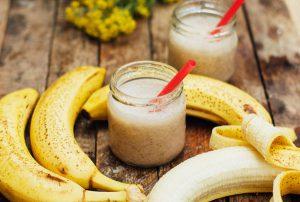 Smoothie μπανάνα – μπισκότο