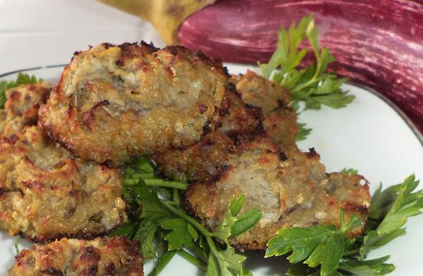 Μελιτζανοκεφτέδες φούρνου