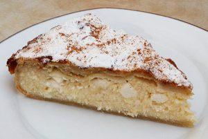 Γλυκιά πίτα με φιδέ και μυζήθρα