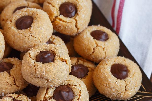 Ζαχαρωμένα μπισκότα με πραλίνα