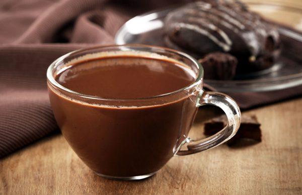 Ζεστή σοκολάτα με τζίντζερ