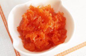 Γλυκό κουταλιού καρότο