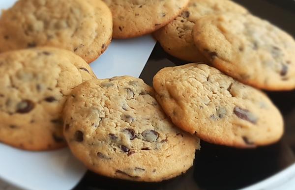 Μαλακά Cookies φυστικοβούτυρο – σοκολάτα